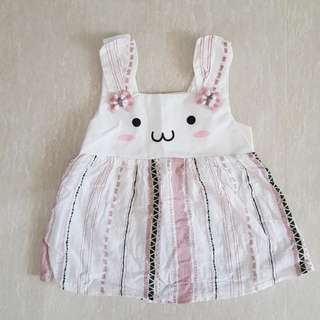 Pink Baby Rabbit Dress