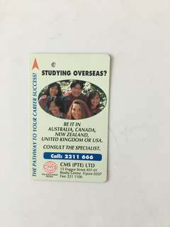 TransitLink Card - Studying Overseas (CMS Pte Ltd)