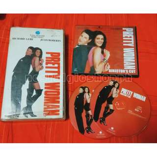 Pretty woman VCD and VHS