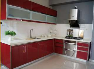 Kitchen Cabinet, dapur , wardrobe, homedeco, sink