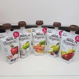 Heinz Organic Baby Food