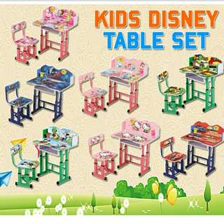 Kid Disney Table Set