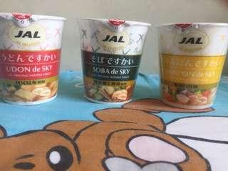 JAL CUP NOODLES 日本航空杯面