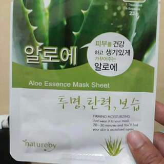 Natureby Aloe Vera Essence Face Mask