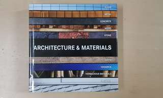 Architecture and Materials Book free shipping