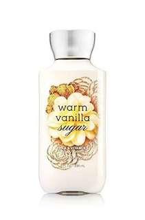 Bath and body works warm vanilla lotion
