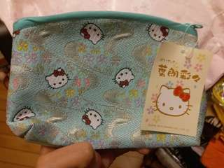 全新日版Hello Kitty 化妝袋