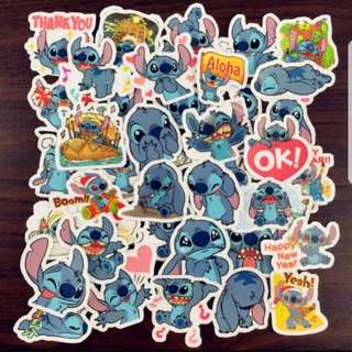 40pcs stitch Sticker