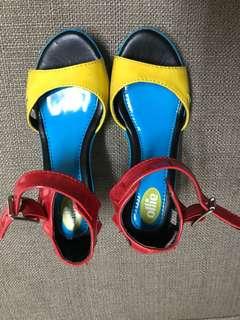 Ollie heels sandals