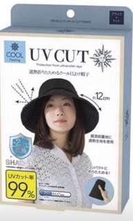 99%防UV 冰感降温造型帽