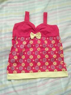 Red blouse 2t