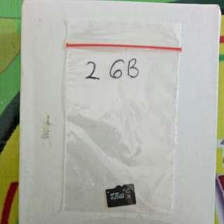 """MEMORYCARD 2GB"",Murmer."