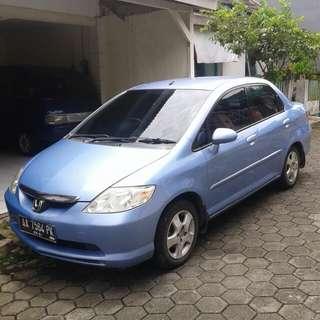 Honda new city idsi th2003 plat aa
