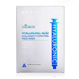 Eaoron Hyaluronic Acid Collagen Hydrating Face Mask 25ml 5 Piece