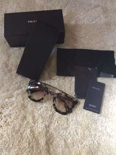 Authentic Prada Sunglasses complete with box