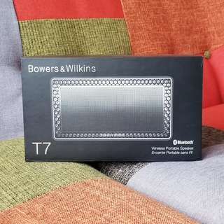 【全新】Bowers & Wilkins T7 Wireless Bluetooth Speaker 藍牙 喇叭 揚聲器