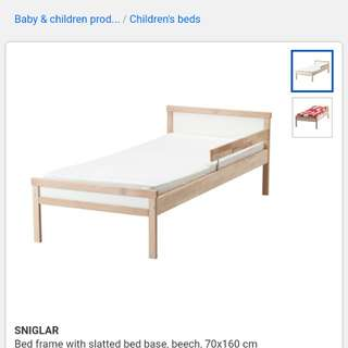 Ikea SNIGLAR kids bed