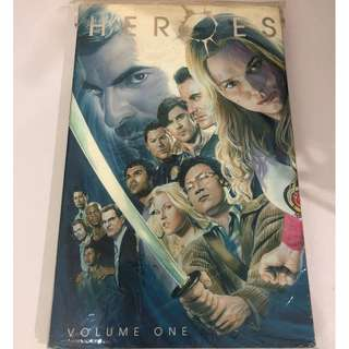 TV Series' Heroes Volume 1 Graphic Novel