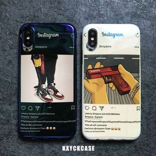 Instagram Supreme Iphone Case (KXYCKCASE)