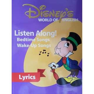 迪士尼美語世界Disney's World of English - Listen along & play along lyrics