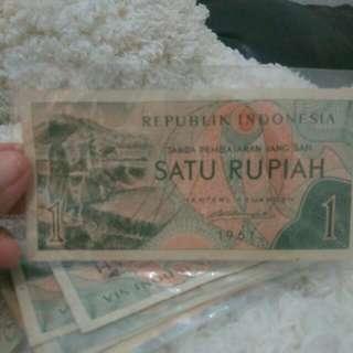 Uang lama satu rupiah