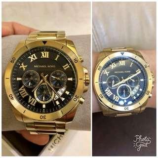Michael Kors Authentic Mens Gold Watch