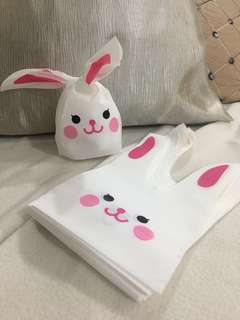 Rabbit Chocolate / sweets gift bag /wrapping