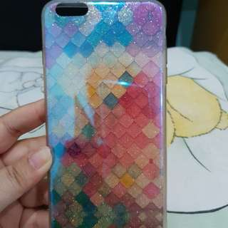Scales blueray soft case iphone6+