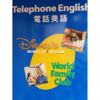 迪士尼美語世界Disney's World of English - Telephone English