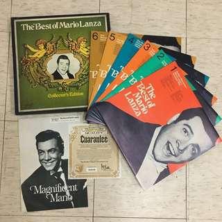經典男高音 The Best of Mario Lanza LP 黑膠唱片 市場罕有