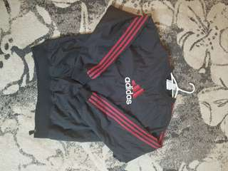 Vintage Adidas Windbreaker Pullover (men's small)