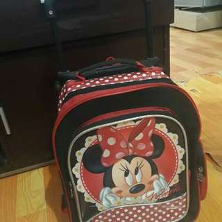 minie mouse trolley