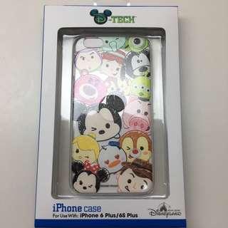 100% Real Disneyland iPhone 6plus/ 6s plus tsum tsum case