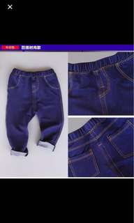 BN Boys, girls, babies, jeans, babies, jeans, cotton, soft pants