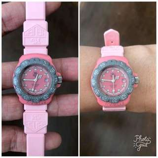 Tag Heuer Authentic Rubber Strap Ladies Watch