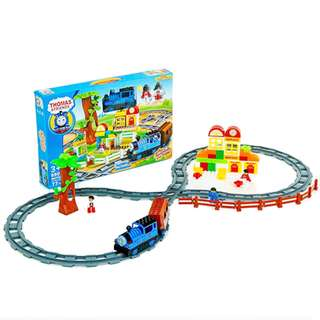 OEM Thomas And Friends 77Pcs Big Motor Building Block Set With Lights&Sounds
