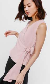 Toshe Crossover Sash Top