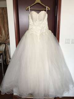 A-Line婚紗 / wedding gown