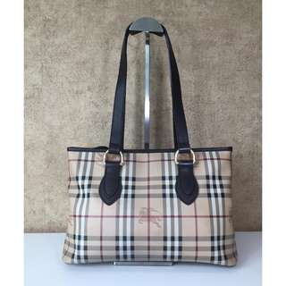 BURBERRY 3200977 HAYMARKET CHECK TOTE BAG
