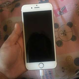 iPhone 6s Rosegold Smart Locked