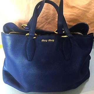 Preloved MIU MIU Tote Bag