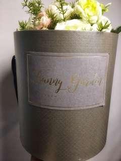 Bunny Garden Wedding Bouquet