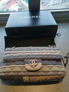 Authentic Chanel Pink Purple Handbag