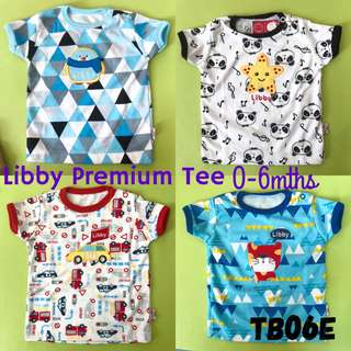 0-6m Libby Premium Tee Top Casual
