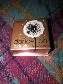 AUTHENTIC BENEFIT DANDELION HIGHLIGHTER