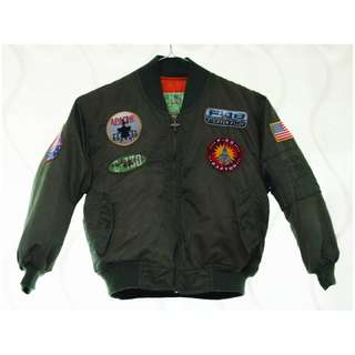 Kids Aviator Flight Jacket
