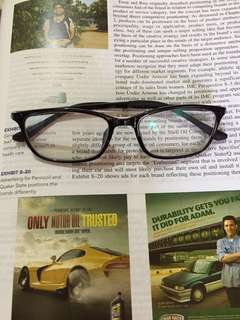 Frame kacamata kaca mata lentur