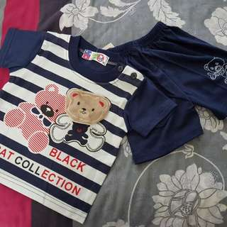 BNWT T-shirt and Shorts set (6 months old)