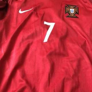 99%新 葡萄牙國家隊 印字 7 Ronaldo