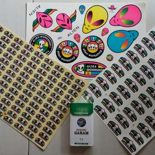 Alien workshop vintage sticker nos